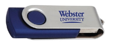 4 GB Swivel USB Drive