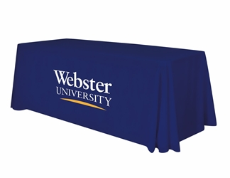 6ft Table Cover - Webster University