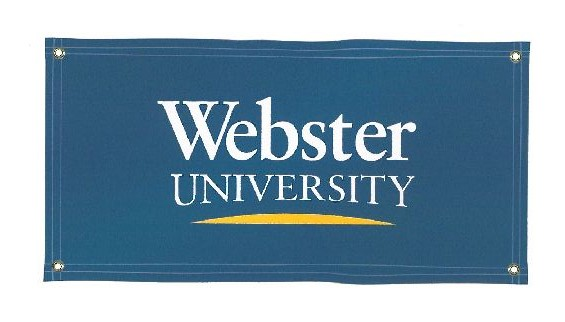 Vinyl Wall Banner - Webster University